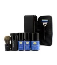 The Art Of Shaving - ชุดเดินทาง ( Lavender ): Razor+ Shaving Brush+ Pre-Shave Oil 30ml+ Shaving Crea