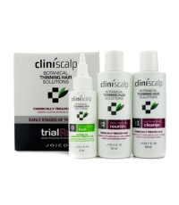 Joico - Cliniscalp Trial Rx Kit - Early Stages of Thinning (For Chemically-Treated Hair) - 3pcs