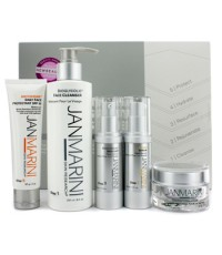 Jan Marini - ชุด Skin Care Management System: ทำความสะอาดผิว + ปกป้องผิวหน้า + เซรั่มผิวหน้า + โลชั่