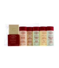 Clarins - Eau Dynamisante Body Coffret: Body Exfoliator + Body Lotion + Shower Gel + Shampoo + Condi