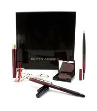 Kevyn Aucoin - ชุด Best of  (1x ที่ดัดขนตา 1x มาสคาร่า 1x ดินสอเขียนขอบตา Primatif 1x ดินสอเขียนคิ้ว