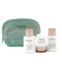 Pevonia Botanica - ชุดซ่อมแซมผิว Your Skincare Solution Power:ทำความสะอาดผิว 50ml + โลชั่น 50ml + คร