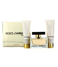 Dolce & Gabbana - The One Coffret: Eau De Parfum Spray 75ml/2.5oz + Body Lotion 50ml/1.6oz + Shower