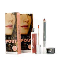 Fusion Beauty - Full Out Pout Lip Plump Set - Color Shine (# Fresh) + Pencil (# Pout) Duo Pack - 4pc