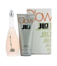 J. Lo - Glow Coffret: Eau De Toilette Spray 100ml/3.4oz + Body Lotion 200ml/6.7oz - 2pcs
