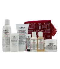 คีลส์ - Skincare Routine Set: Toner 250ml + Cleanser 150ml + Cream 125ml + Body Lotion & Body Cleans