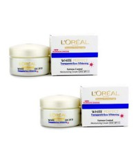 L'Oreal - ครีมมอยซ์เจอไรเซอร์กลางวัน Dermo-Expertise White Perfect Transparent Rosy Whitening SPF15