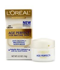 L'Oreal - ครีมทาตาลดการบวม + ผิวรอบดวงตากระจ่างใส Skin Expertise Age Perfect  (ผิวสูงวัย) - 14g/0.5o