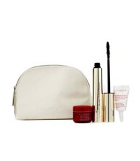 Clarins - Wonder Perfect Mascara Set:1x Mascara+1x Instant Smooth Perfecting Touch MakeUp Base+1x Ey