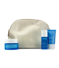 Clarins - HydraQuench Set: HydraQuench Cream 50ml + Cream-Mask 15ml + Serum Bi-Phase 15ml + Bag - 3p