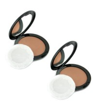 Vincent Longo - Pressed Powder - # 5 Cafe Creme (Duo Pack) - 2x12g/0.42oz