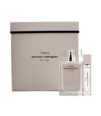 Narciso Rodriguez - L' Eau For Her Coffret: Eau De Toilette Spray 50ml/1.6oz + Eau De Toilette Purse