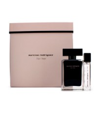 Narciso Rodriguez - For Her Coffret: Eau De Toilette Spray 50ml/1.6oz + Eau De Toilette Purse Spray
