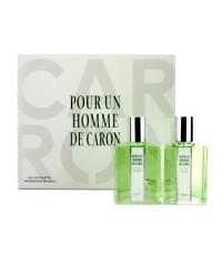 Caron - สเปรย์น้ำหอม Pour Un Homme EDT Duo Coffret - 2x50ml/1.7oz