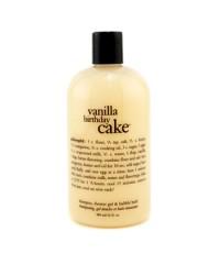 Philosophy - Vanilla Birthday Cake - แชมพูได้รับรางวัลสูตรอ่อนโยน เจลอาบน้ำ & ผสมอ่างอาบน้ำ  - 473.1