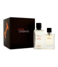 Hermes - Terre D'Hermes Coffret: Eau De Toilette Spray 12.5ml/0.42oz + After Shave Lotion 40ml/1.35o