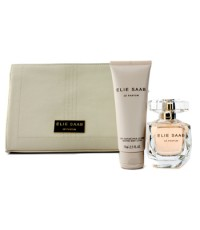 Elie Saab - ชุด Le Parfum Coffret: สเปรยน้ำหอม EDP 50ml/1.6oz + โลชั่นทาผิว 75ml/2.5oz + Pouch - 2pc