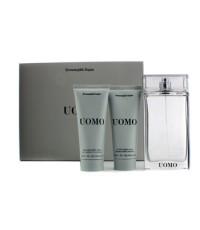 Ermenegildo Zegna - Uomo Coffret: Eau De Toilette Spray 100ml/3.4oz + After Shave Balm 100ml/3.4oz +