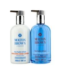 Molton Brown - The Rok Radish & Basil Anti-Bacterial Hand Care Set: Hand Wash 300ml + Hand Lotion 30
