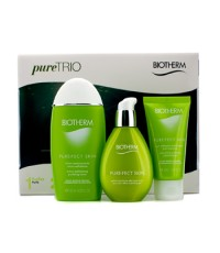 ไบโอเธิร์ม - Pure.Fect Skin Trio (Normal to Oily Skin): Cleansing Gel 50ml + Purifying Toner 125ml +