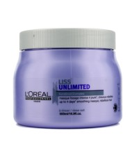 L'Oreal - Professionnel Expert Serie - Liss Unlimited Smoothing Masque (For Rebellious Hair) - 500ml