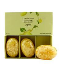 Crabtree & Evelyn - ชุดสบู่เติมความสดชื่นให้แก่ผิวกาย Citron Honey & Coriander - 3x140g/4.9oz