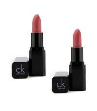Calvin Klein - ลิปสติกเนื้อครีม Delicious Luxury (แพ็คเกจใหม่) - #110 Flutter (ไม่มีกล่อง) (ดูโอ้แพ็