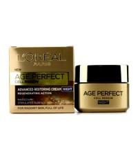 L'Oreal - ครีมกลางคืนเร่งผิวใหม่ Age Perfect SPF 16 - 50ml/1.7oz