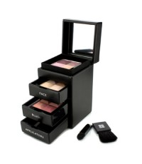 Givenchy - Les Mini Prismes Travel Set (1x Yeux Quatuor 1x Face Powder 1x Powder Blush 2x Applicator