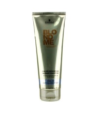 ชวาร์สคอฟ - Blondme Blonde Color Enhancing Blonde Shampoo - Cool Ice (Anti-Yellow Effect) - 250ml/8.