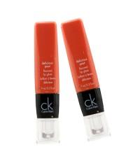 Calvin Klein - ลิปกลอส Delicious Pout Flavored (แพ็คเกจใหม่) ดูโอ้แพ็ค - # 427 Fiesta (ไม่มีกล่อง) -