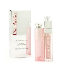 คริสเตียน ดิออร์ - ชุด Dior Addict Lip Experts Duo ( 1x ลิป Lip Glow 1x ลิป Lip Maximizer ) - 2pcs
