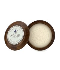Crabtree & Evelyn - Nomad Shave Soap In Wooden Bowl - 100g/3.5oz