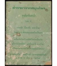 ตำรายาจากสมุนไพร ฉบับทันสมัย (เล่ม1)