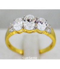 แหวนทอง 585 หนัก 2.7 กรัม