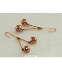 ต่างหู ทองคำ 416 (10K) PINK GOLD