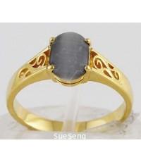แหวนทองคำ 90 ฝังพลอย