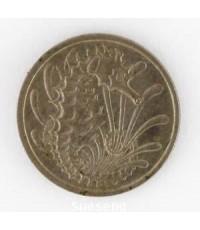 เหรียญ SINGAPORE 10 CENT