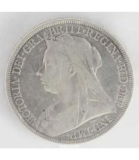 เหรียญต่างประเทศ เงินแท้ VICTORIA
