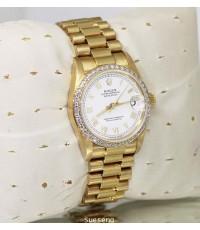นาฬิกาข้อมือ ROLEX BOY SIZE