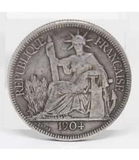 เหรียญ REPUBLIQUE ํ FRANCAISE 1904