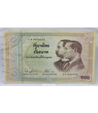 ธนบัตรร้อยบาท รัฐบาลไทย