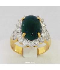 แหวนหยก ทองคำ90