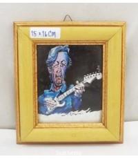กรอบรูป นักดนตรีเล่นกีต้าร์