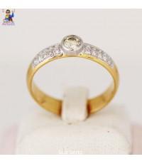 แหวนเพชร ทอง 585 (18K)