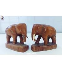 ช้างไม้แกะสลัก