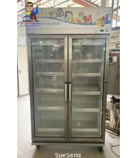 ตู้แช่ 2 ประตู SANDEN INTERCOOL รุ่น YPM-110P สีขาว