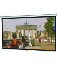 96x96 Model B Projector Screen, Square Format, Matte White Fabric