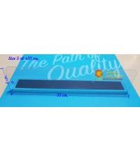 พลาสติกกั้นแบ่งสินค้าขนาด 3x6x 35 cm.สำหรับชั้นวางสินค้า รหัสสินค้า:000658