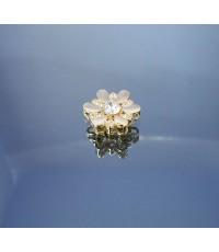 จี้ห้อยคอทอง 14k ดีไซรูปดอกไม้